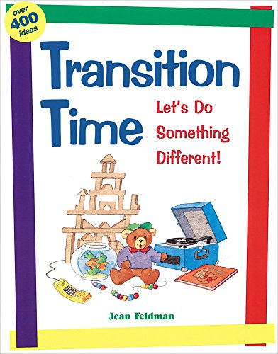 Transition Time: Let's Do Something Different by Jean Feldman (31-Oct-2008) Paperback