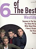 WESTLIFE - 6 of the best Songbook piano/vocal/guitar mit Bleistift -- Die 6 beliebtesten Hits der Band u. a. mit YOU RAISE ME UP arrangiert für Klavier, Gesang und Gitarre (Noten/Sheet music)