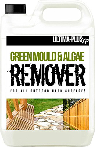 The ULTIMA-PLUS XP Mould & Algae Killer For Hard Surfaces is designed to clean different hard surfaces like large decked areas, driveways including tarmac, resin, block paved, sheds, boats, and even caravans among other surfaces, if the surface is hard, it will clean it.
