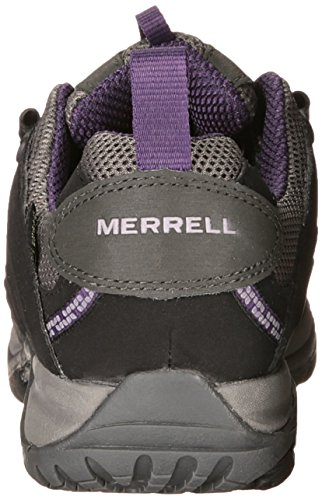 Merrell - Scarpe da escursionismo, Donna Multicolore (Black/Perfect Plum)