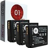 3X DOT-01 Brand Panasonic Lumix DC-ZS70 Batteries For Panasonic Lumix DC-ZS70 4K Digital Camera And Panasonic ZS70 Battery Bundle For Panasonic BLG10 DMW-BLG10