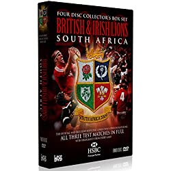 Lions Tour of South Africa Complete Test Series (4 DVD) [Edizione: Regno Unito] [Import]