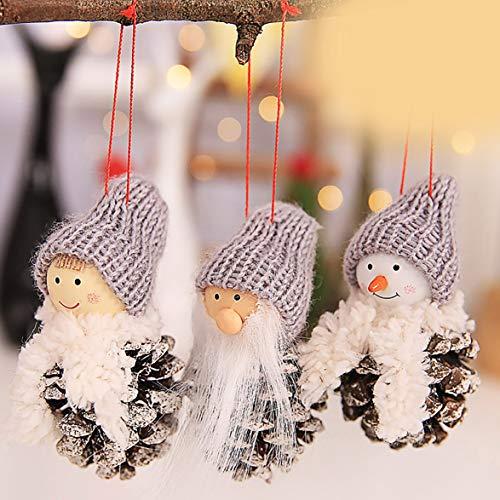 Kongqiabona Weihnachten Kreative Alte Mann Puppe Kleine Hängende -