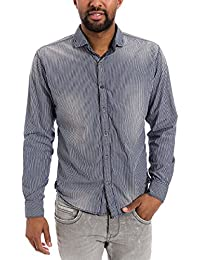 Timezone - Chemise casual - Slim Fit - Manches longues Homme