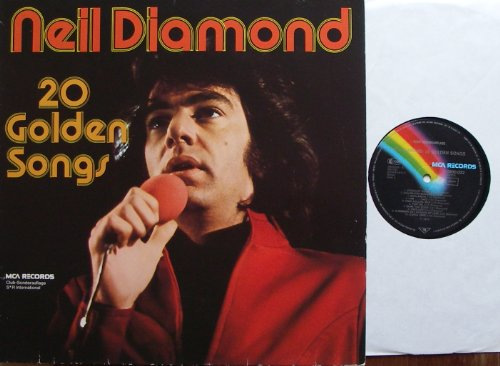 0.032 (DIAMOND, NEIL / 20 Golden Songs / Club-Sonderauflage / 1975 / Bildhülle / MCA RECORDS # 0900.032 / Deutsche Pressung / 12