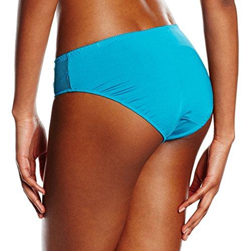 LingaDore Damen Taillenslip Daily Lace Slip Blau (Oceaan groen 08)
