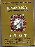 CATALOGO UNIFICADO DE ESPAÑA Y DEPENDENCIAS POSTALES. 1968. - Refrendado por 105 Miembros del Grupo Nacional de Comerciantes Filatelicos - amazon.es