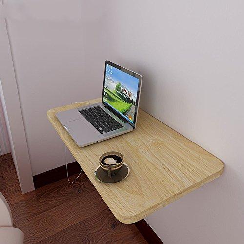 Schreibtische HAIZHEN Wandklapptisch, Tisch, Klappküche & Esstisch, Kinder, Kinder, Weiß Klapptisch (Farbe : Wood Color 60cm)