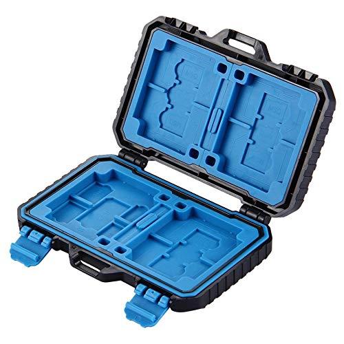 Preisvergleich Produktbild GailMontan PULUZ 27-in-1 wasserdichtes Speicherkartenetui Professionelle Kamera-Aufbewahrungsbox
