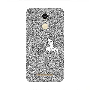 Back cover for Redmi Note 3 Lady in Woods