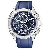 Montre Citizen Racing 140 Ca0141-01l Homme Bleu