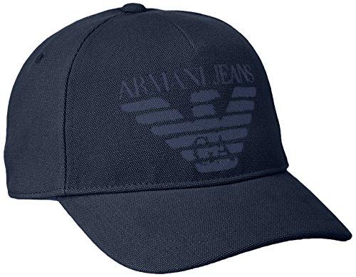Armani Jeans 9340507P723, Berretti da Baseball Uomo, Blu 00535, Taglia Unica