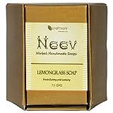 Neev Lemongrass Handmade Soap- Fresh, Ea...
