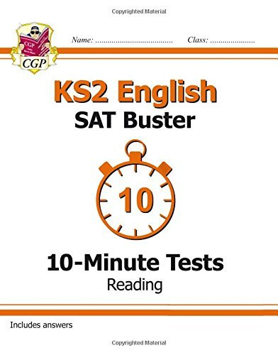 KS2 English SAT Buster 10-Minute Tests: Reading (for the New Curriculum) by CGP Books (2015-09-08)