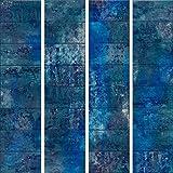 decomonkey PURO TAPETE selbstklebend   10 m Tapete 3D Wandaufkleber - Dekofolie (Klebefolie) Möbelfolie Panel Wandtattoo Wandposter Wandsticker Beton Betonoptik