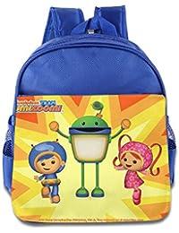 Toddler Kids Bot Team Umizoomi School Backpack Cute Baby Boys Girls School Bag RoyalBlue