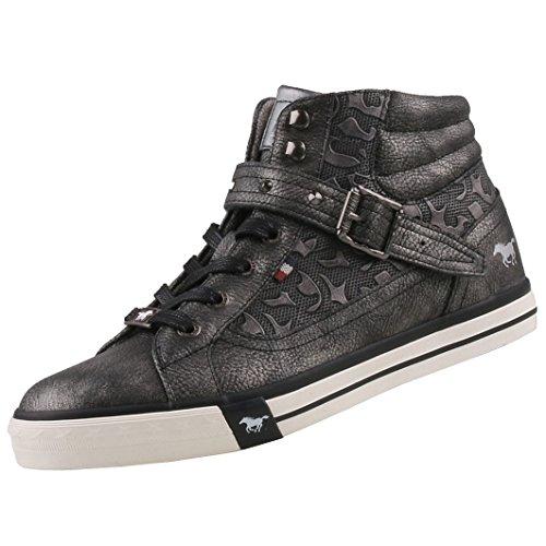 Mustang Damen High-Top Sneaker Grau, Schuhgröße:EUR 42