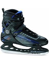 Fila Schlittschuhe Primo Tech - Patines de patinaje sobre hielo , color negro / azul, talla 47.5