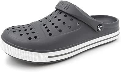 AMOJI Unisex Garden Clogs Shoes Sandals Slippers Mules CL1820