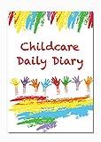 Journal de Puériculture, les liens Eyfs, Daily Journal Agenda, enfant d'enregistrement, Early Years Care, Housse de couleurs. a5