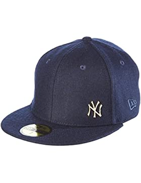 Gorra New Era New York Yankees Metal Melton Azul Navy/Gold Talla:7 1/8