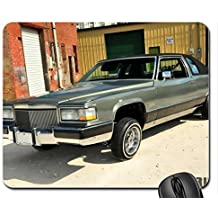 1977-Cadillac-Deville Mouse Pad, Mousepad by icecream design