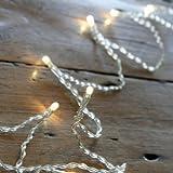Guirlande Lumineuse à Piles avec 20 LED Blanc Chaud de Lights4fun