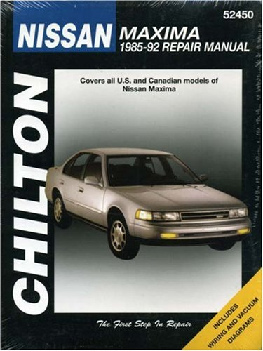 chiltons-nissan-maxima-1985-92-repair-manual