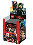 LEGO NINJAGO MOVIE Sticker - 50 Tütchen (250 Sticker) im Display - NEU