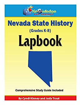 Nevada State History Lapbook: Plus FREE Printable Ebook (English ...