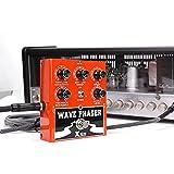 Xvive Wave Phaser Guitarra Efectos Fase de pedal de efectos para guitarra, bajo, y otros Instrumentos Musicales con señal eléctricas (Xvive W1)