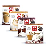 40 Dolce Gusto kompatible Kapseln - Milchkaffee Set - 4 unterschiedliche Sorten (4x10 Kapseln)