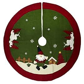 Puntale albero di Natale vetro Bianco Lana opaco 26cm