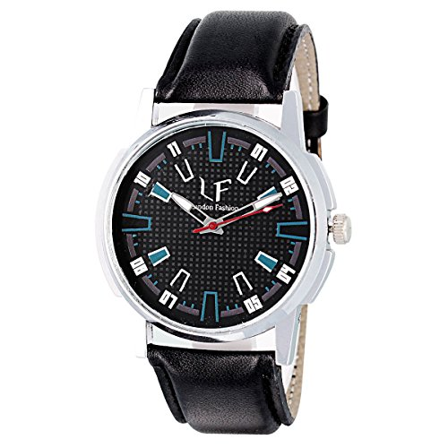 Mango People Analogue Black Dial Mens Watch-Stw_0013