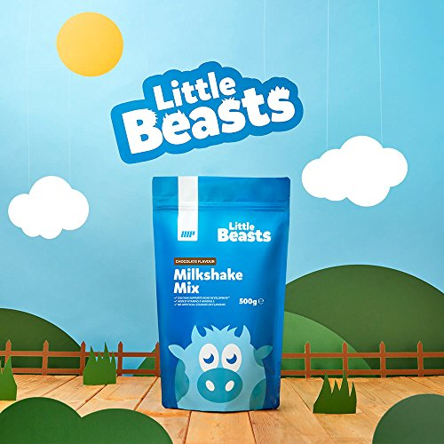 Myprotein Little Beasts Milkshake Mix - Amount:500, Package:Pouch, Flavour:Natural Chocolate Test