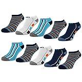 10 Paar Kinder Sneaker Socken Jungen Kindersocken Baumwolle - 56558