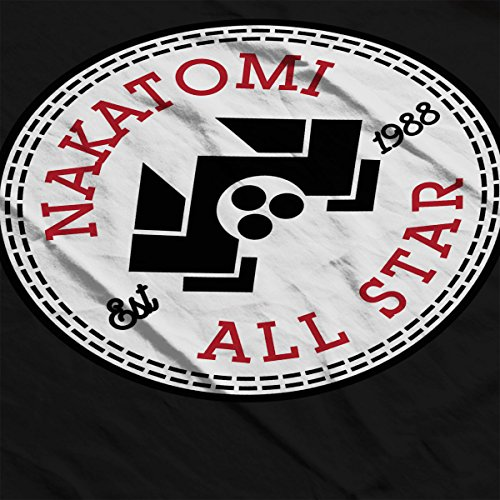 Die Hard Nakatomi Plaza All Star Converse Logo Women's Vest Black