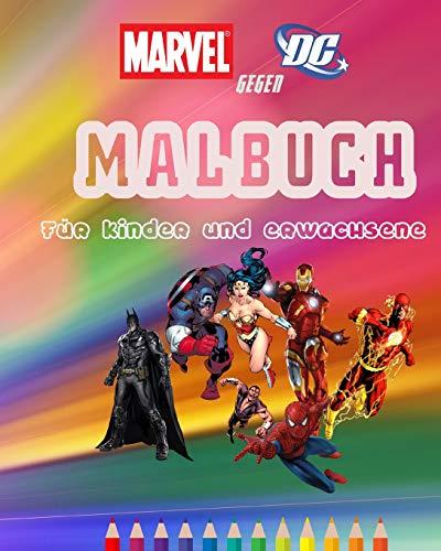 Marvel Gegen DC  Malbuch für Kinder und ()