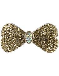 Modeschmuck Glorious 2 Süße Schöne Kleine Haarklammer In Glitzer Blau Neu Uhren & Schmuck