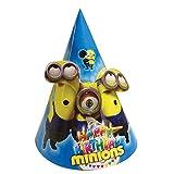 PARTY PROPZ MINION BIRTHDAY CAP/ MINION ...
