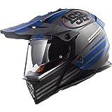LS2 Pioneer MX436 Quarterback Helm Titan XXXL (64/65)