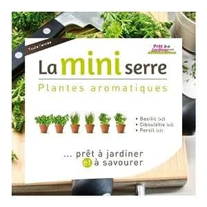 Mini serre herbes aromatiques