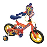 MV Sports Fireman Sam Boys\' Kids Bike Red, 12\