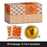 Best Iced Tea Bags - Octavius Cinnamon, Anise Green Tea Bags, 25 Pieces Review