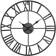 horloge murale fer forge. Black Bedroom Furniture Sets. Home Design Ideas