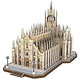 CubicFun Puzzle 3D Italia Duomo di Milano Kit di Modelli architettonici, Souvenir Regalo per Adulti e Bambini, 251 Pezzi
