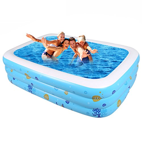ANDEa Familia de gran tamaño Piscina inflada Hogar grande piscina de