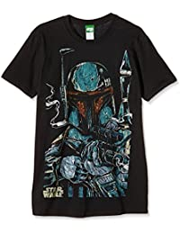 Bravado Star Wars - Boba Fett Sketch - Camiseta Hombre