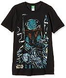Bravado Herren T-Shirt Star Wars - Boba Fett Sketch, Schwarz (Schwarz 001), XXL