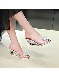 481667186749d Amazon.es    - Sandalias y chanclas   Zapatos para mujer  Zapatos y ...